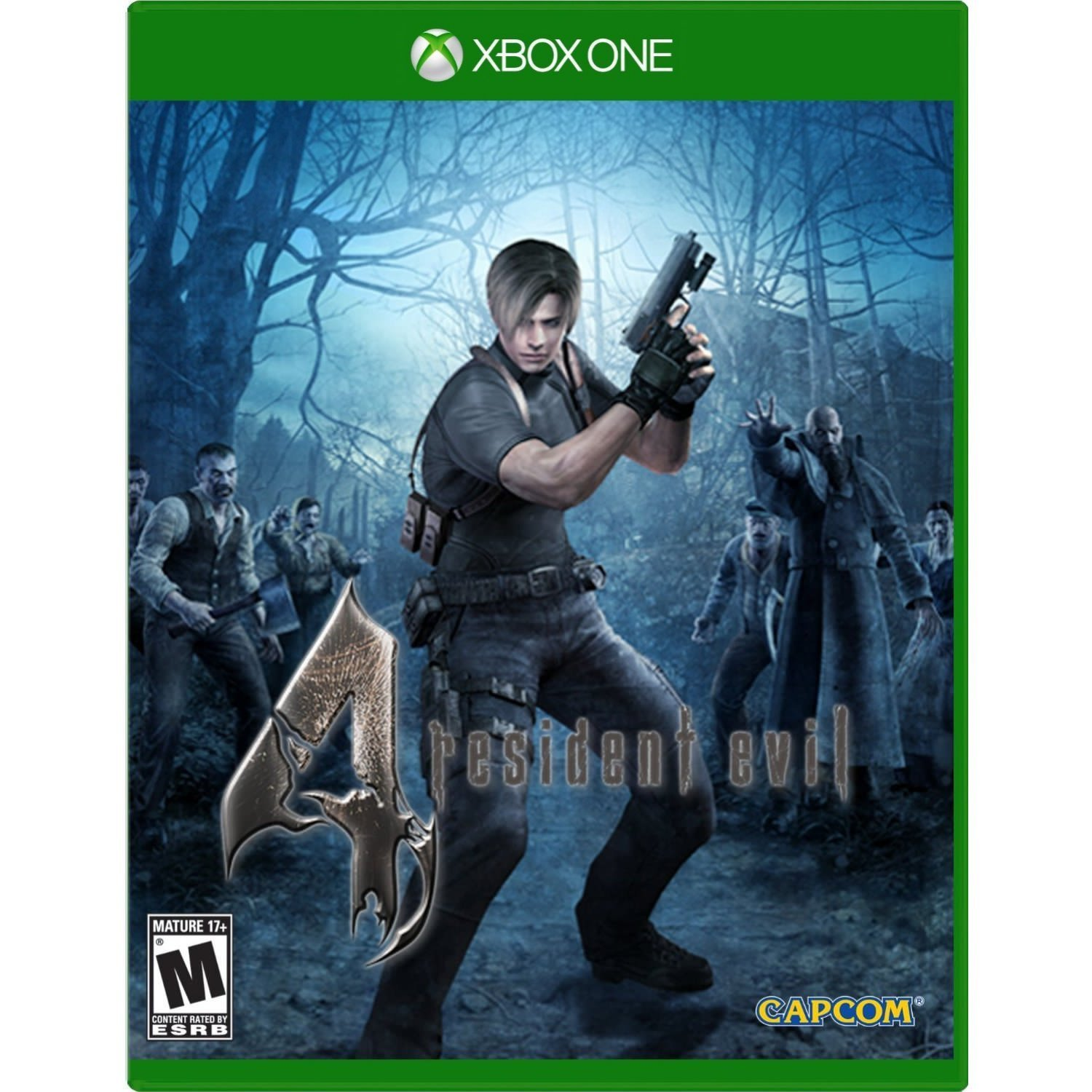 Resident Evil 4-Xbox One By:Capcom Eur:37,38 Ден1:3199