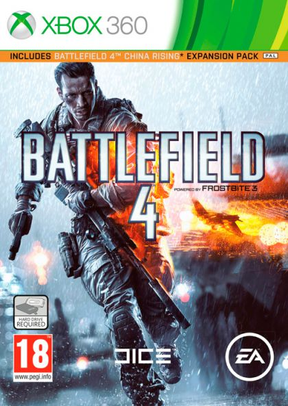 Battlefield 4-Xbox 360 By:EA DICE Eur:9,74 Ден2:799