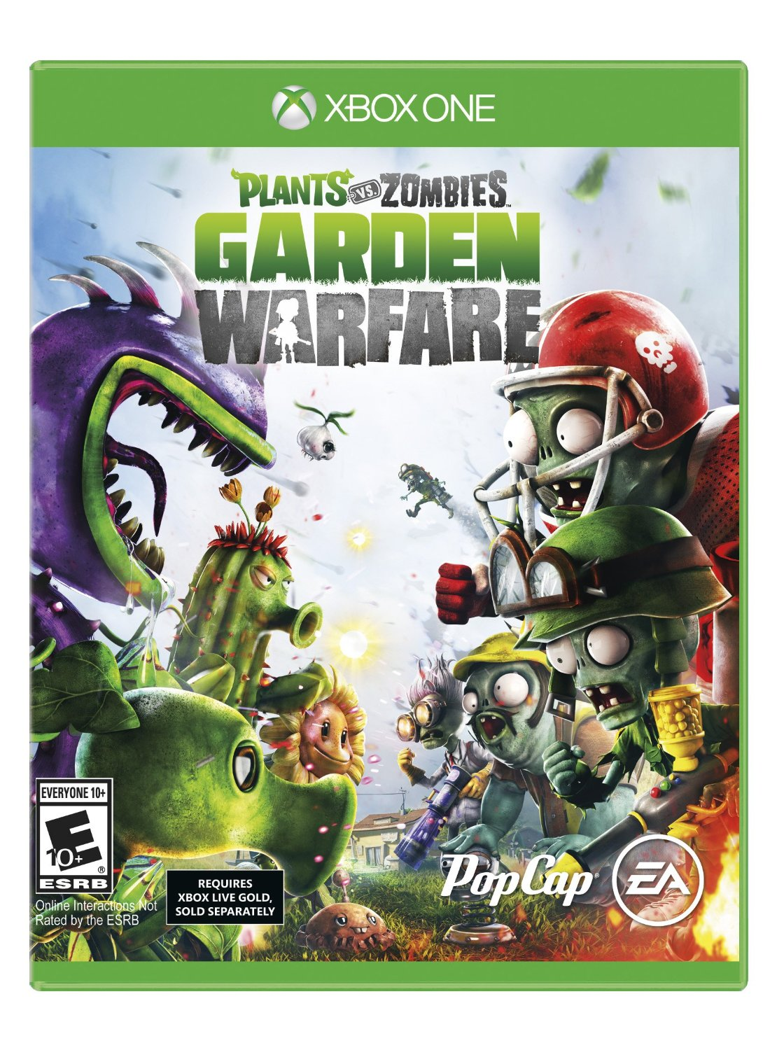 Plants vs. Zombies: Garden Warfare-Xbox One By:PopCap Games Eur:58,52 Ден2:1999
