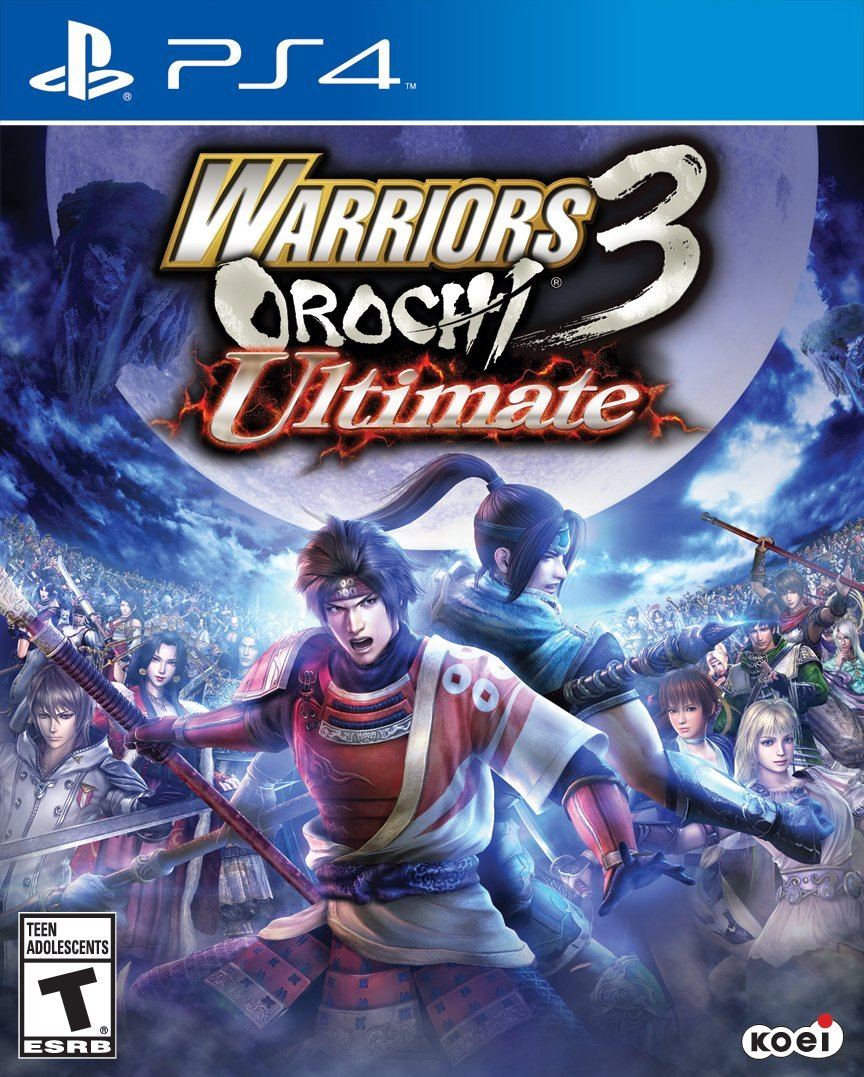Warriors Orochi 3 Ultimate-PlayStation 4                                                                                                               By:Omega Force                                        Eur:26 Ден:1899