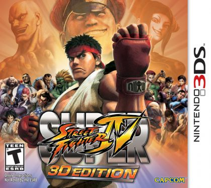 Super Street Fighter IV: 3D Edition (3DS) By:Capcom Eur:12,99 Ден1:799