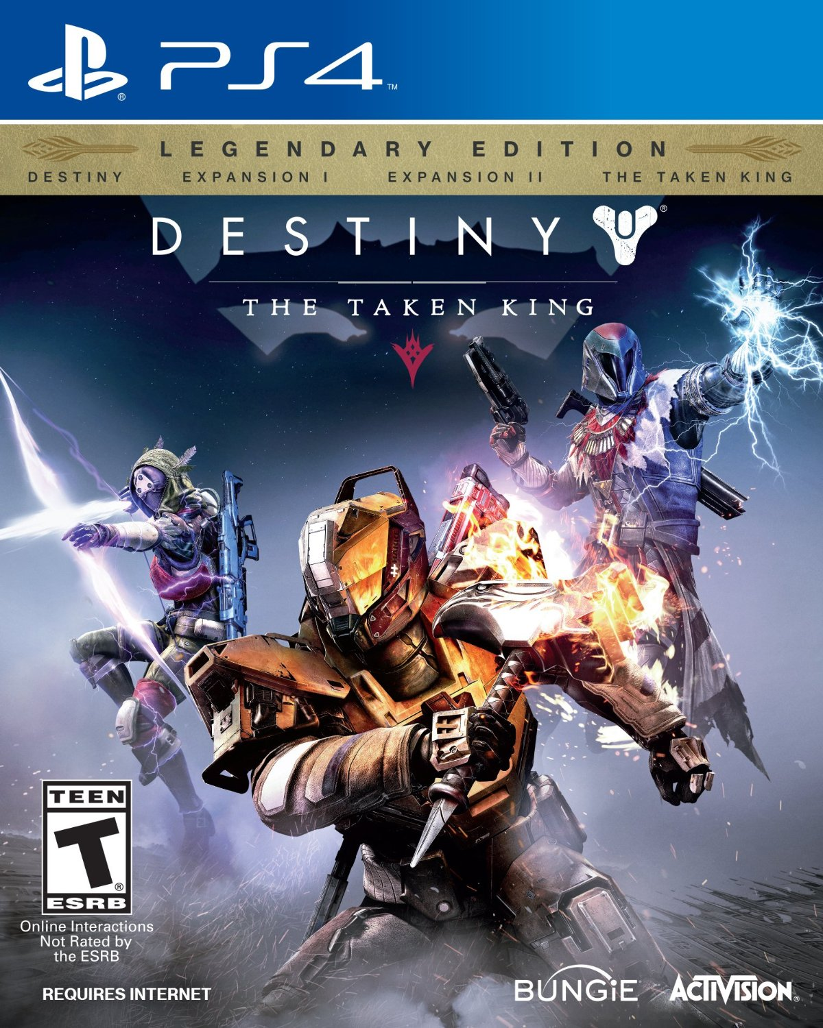 Destiny: The Taken King Legendary Edition-PlayStation 4                                                                                                By:Bungie                                             Eur:52.0 Ден:2899