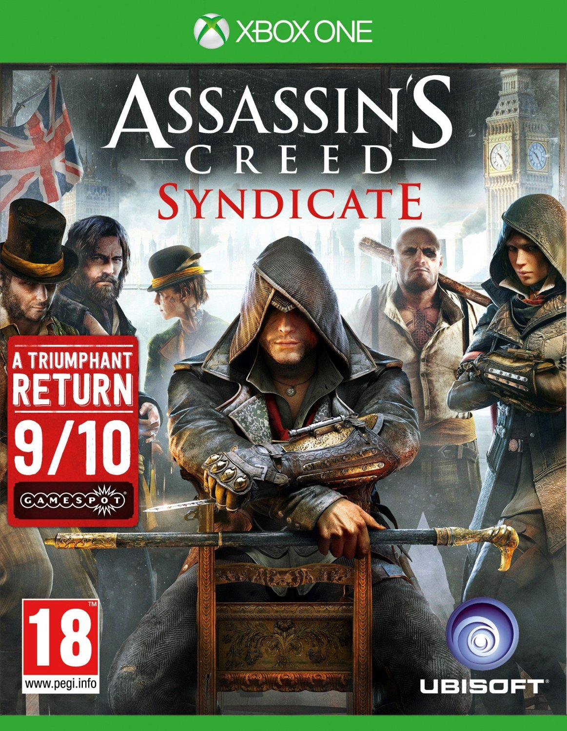 Assassin's Creed: Syndicate-Xbox One                                                                                                                   By:Ubisoft                                            Eur:47.1 Ден:3699