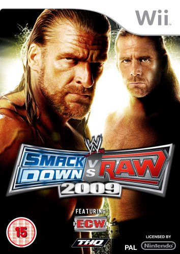 WWE SmackDown vs. Raw 2009 Featuring ECW-Wii                                                                                                           By:Yuke's                                             Eur:14.6 Ден:1499