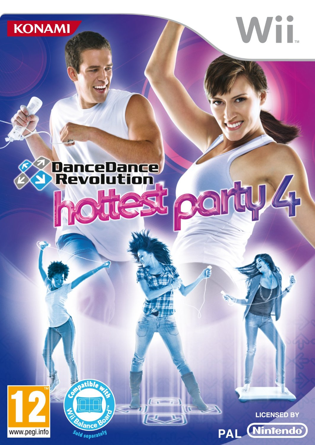 Dance Dance Revolution Hottest Party 4-Wii                                                                                                             By:Konami                                             Eur:14.6 Ден:1899