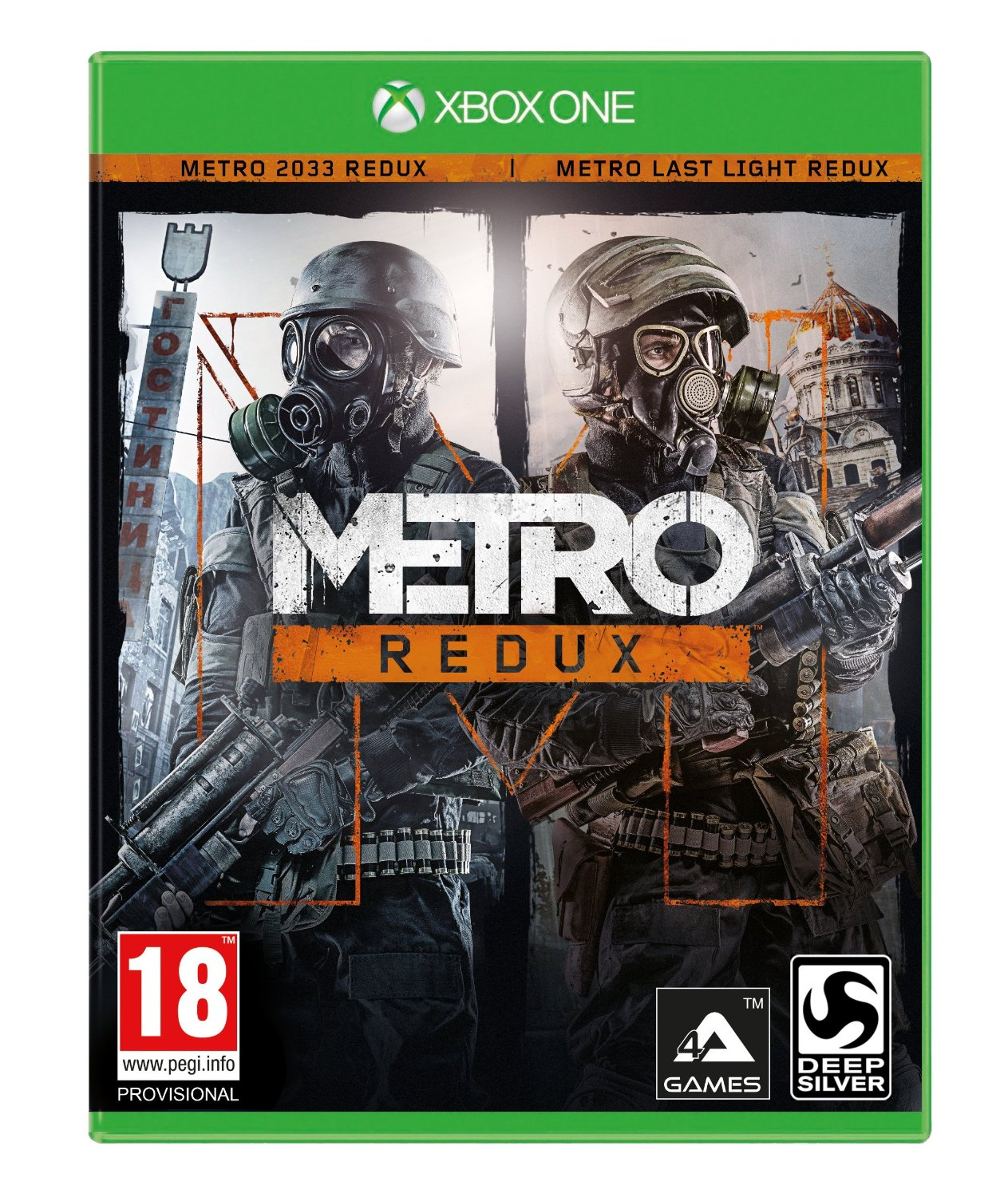 Metro Redux-Xbox One                                                                                                                                   By:4A Games                                           Eur:37.4 Ден:1999