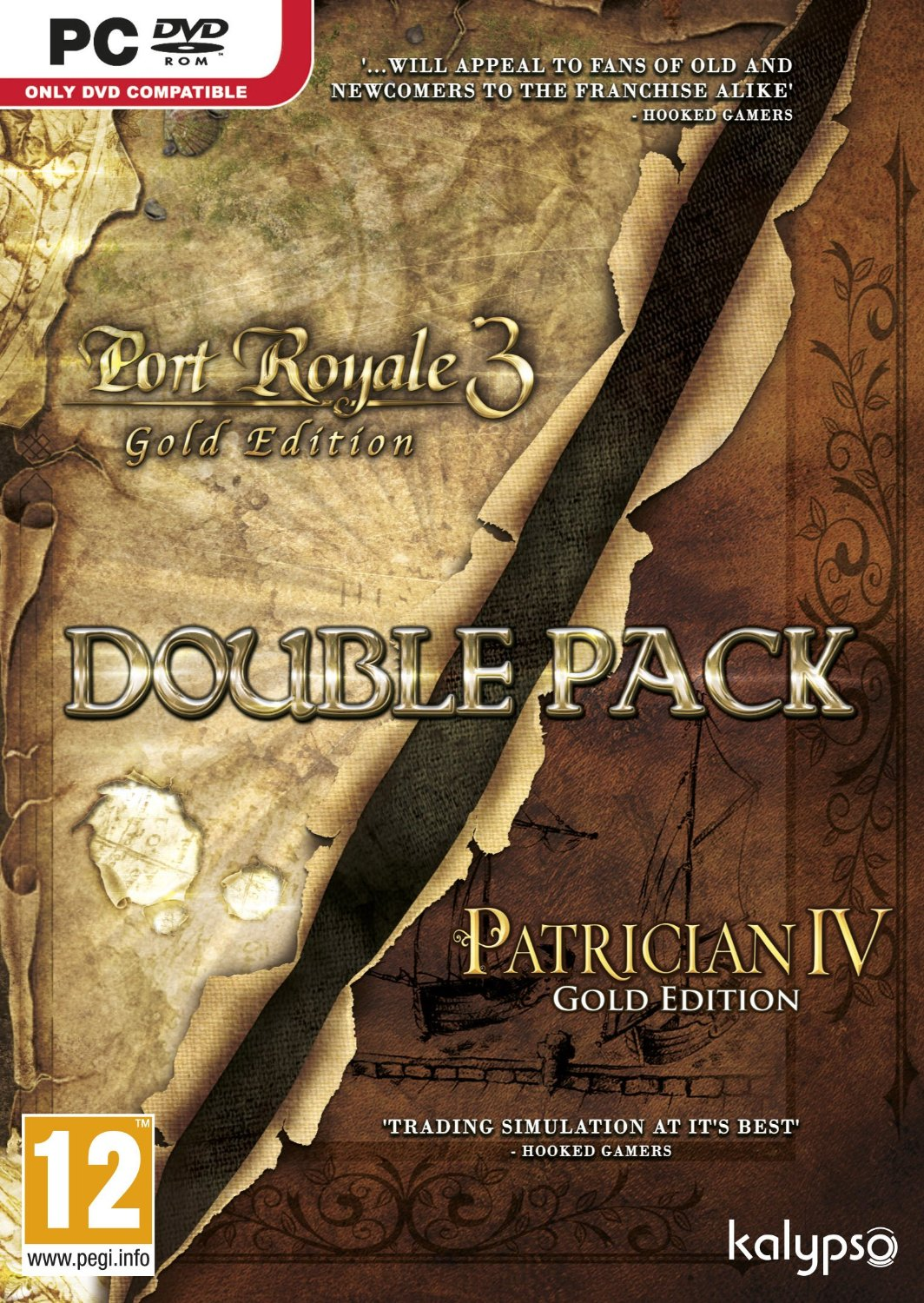 Patrician IV Gold & Port Royale 3 Gold Double Pack-PC                                                                                                  By:                                                   Eur:9.7 Ден:999