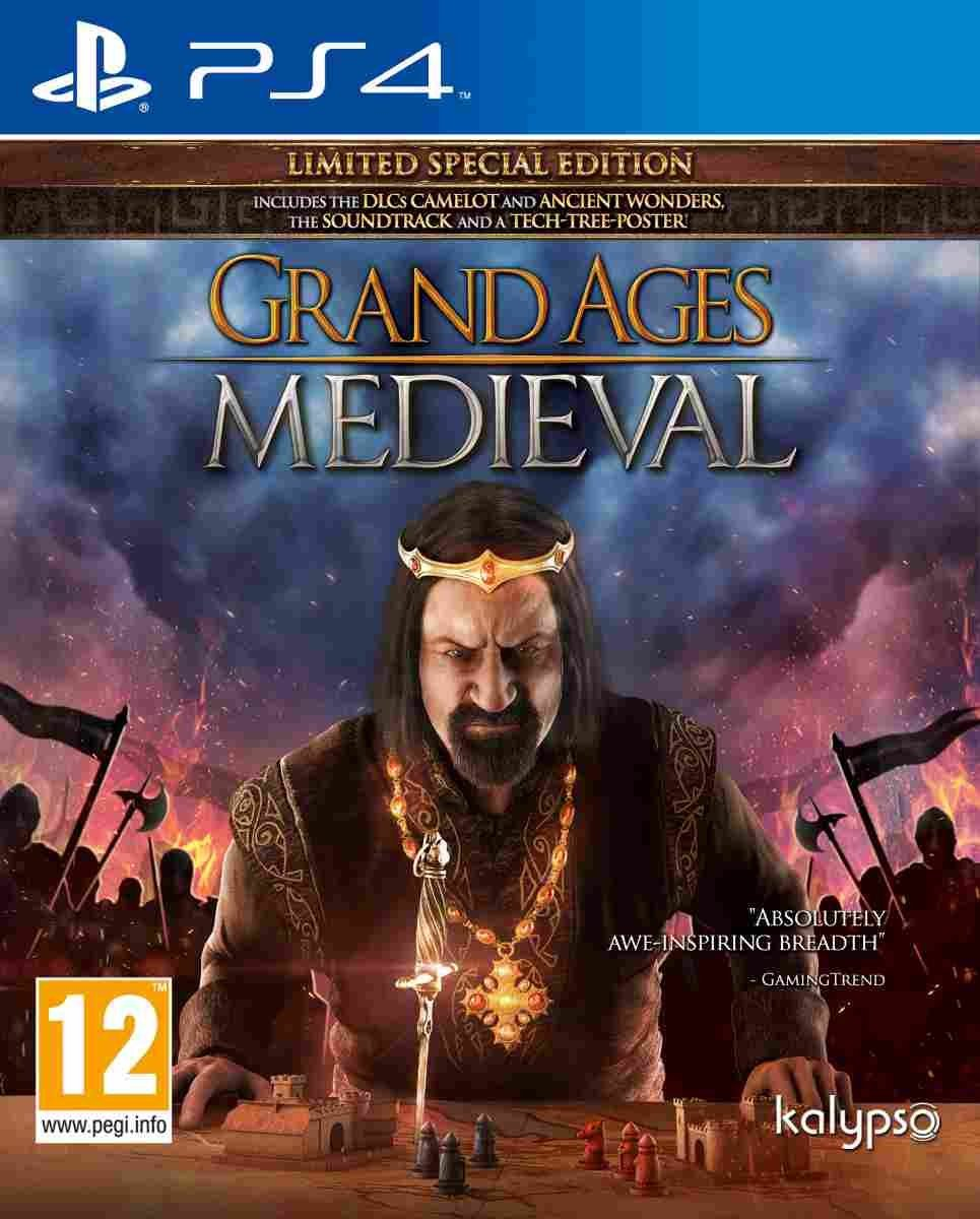 Grand Ages: Medieval-PlayStation 4 By:Gaming Minds Studios Eur:32,50 Ден2:2199