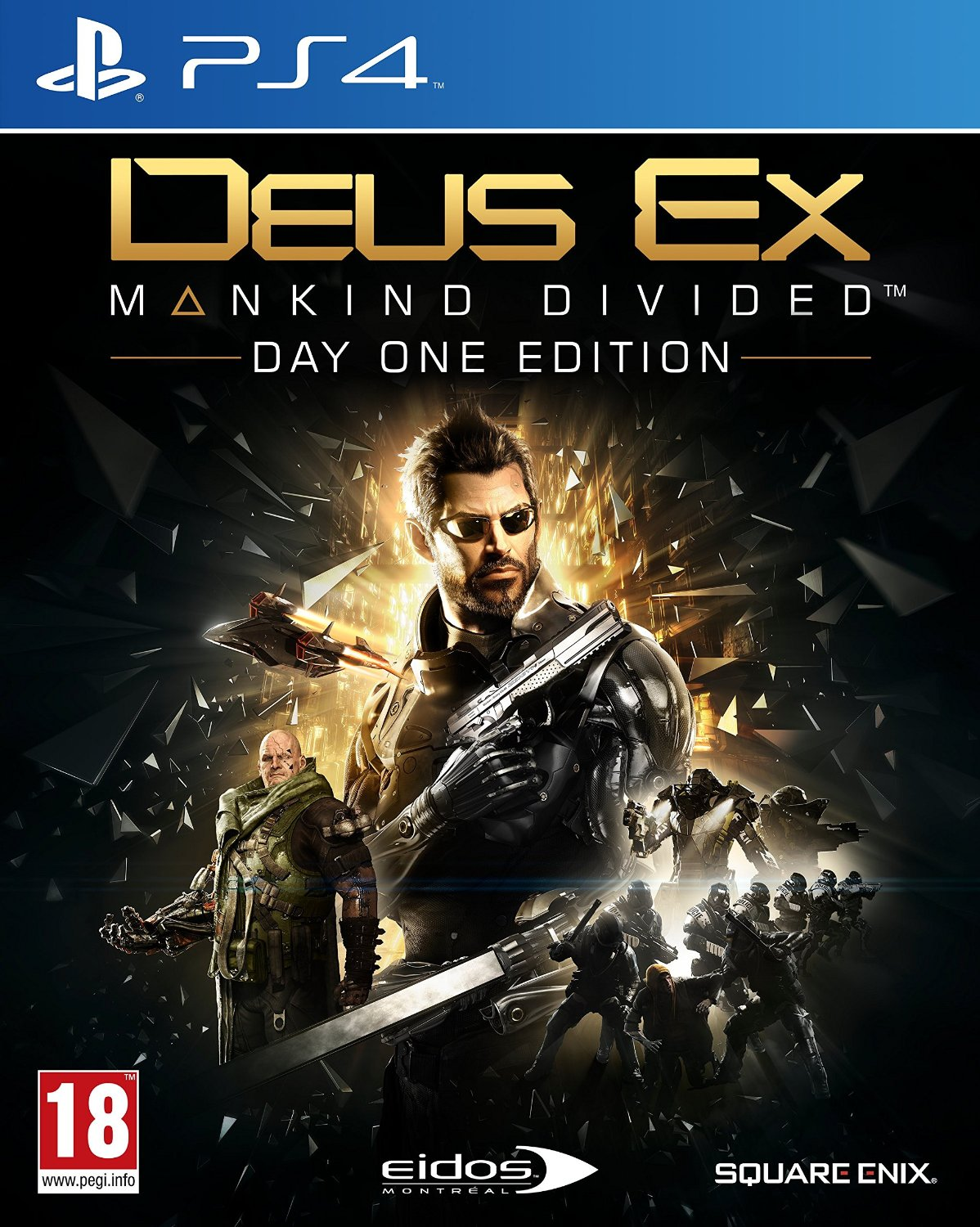 Deus Ex: Mankind Divided-PlayStation 4 By:Eidos Montreal Eur:30,88 Ден1:3999