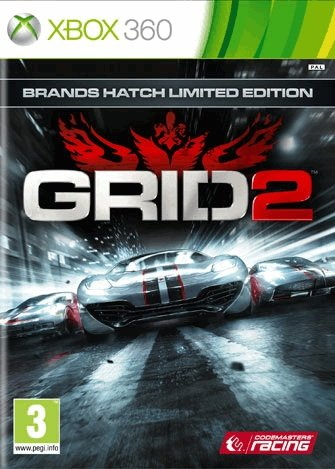 GRID 2-Xbox 360 By:Codemasters Eur:12,99 Ден1:799