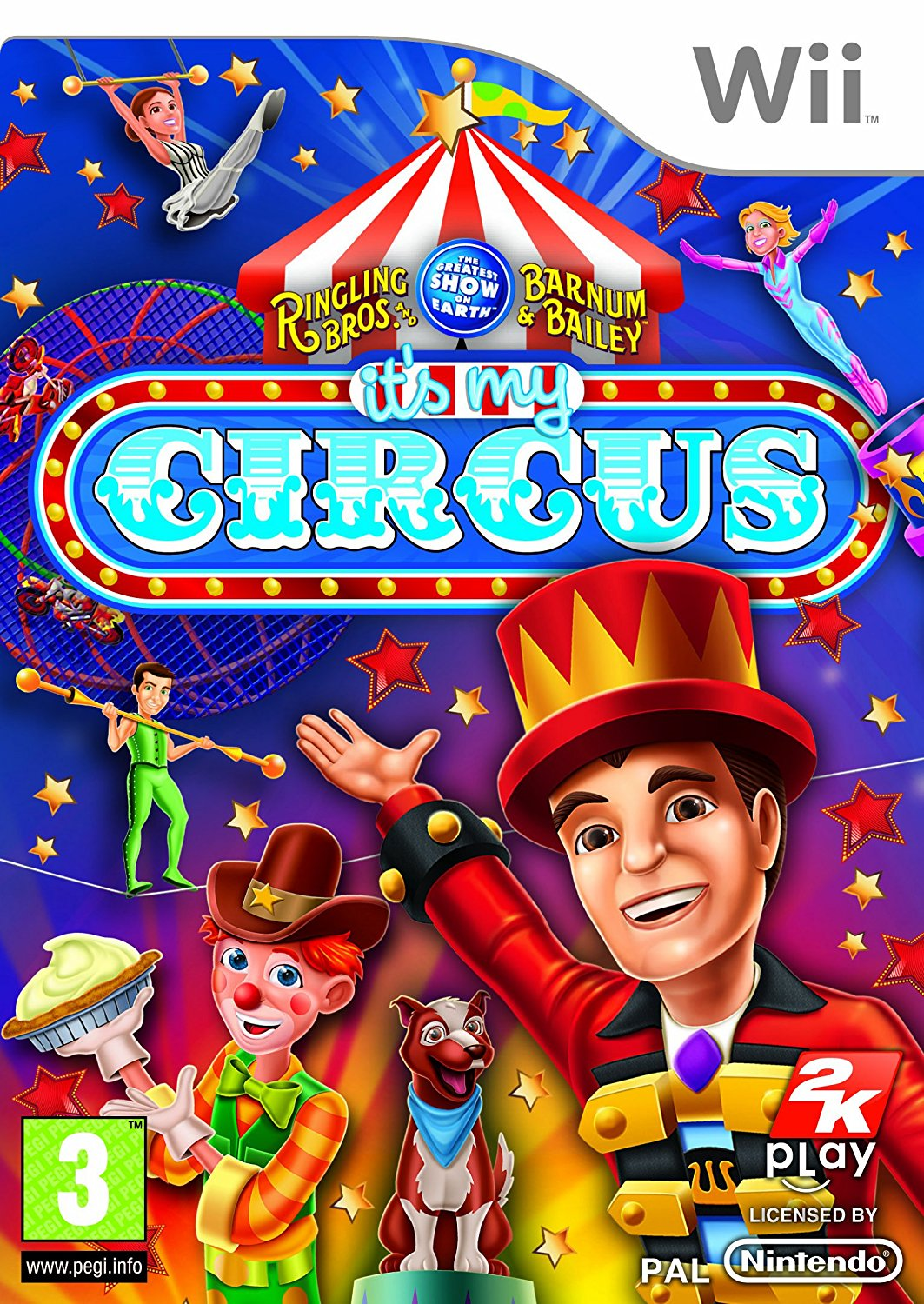 Its My Circus-Wii                                                                                                                                      By:Nintendo                                           Eur:26 Ден:899
