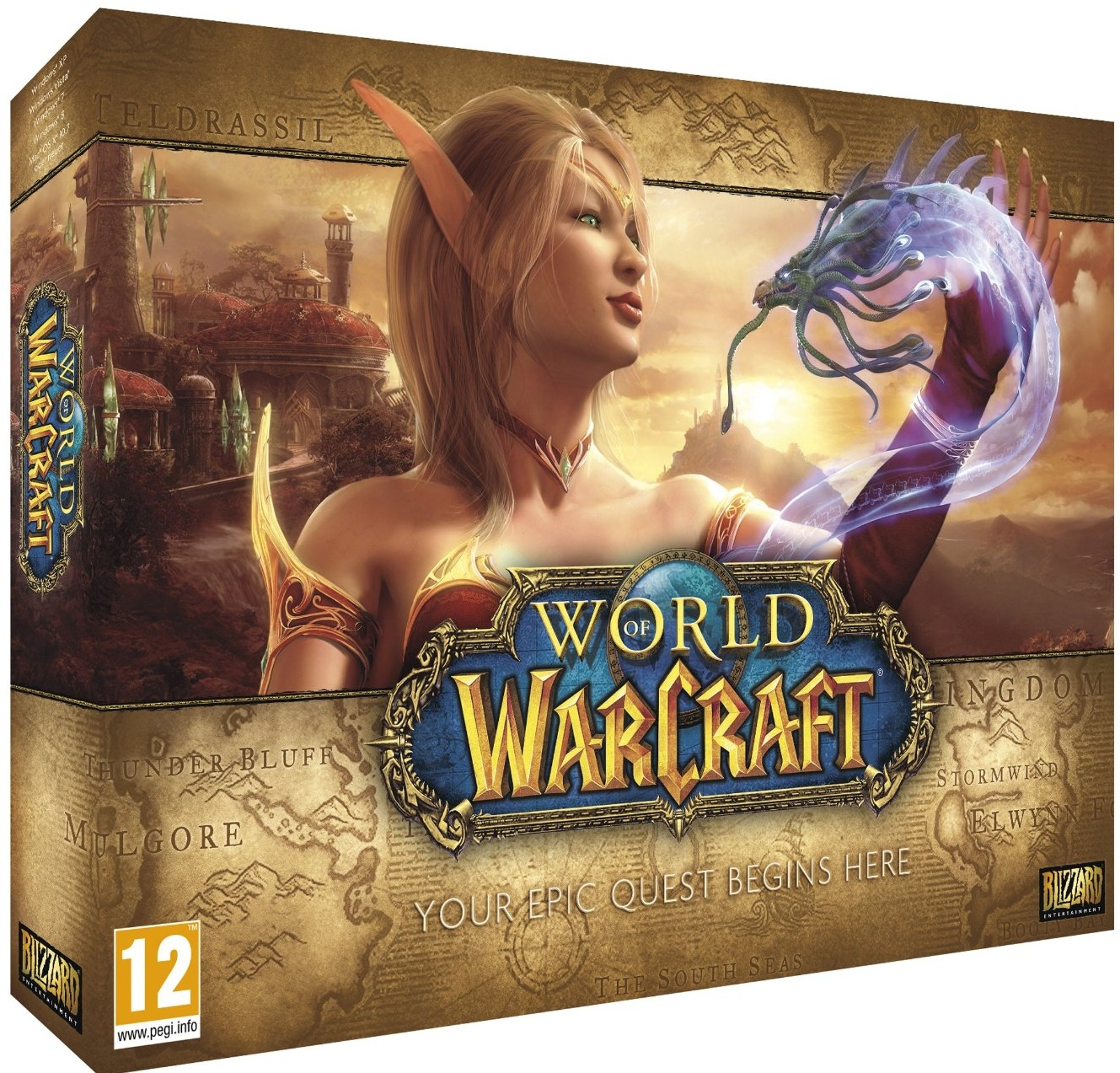 World of Warcraft-PC                                                                                                                                   By:Blizzard Entertainment                             Eur:52.02 Ден:2599