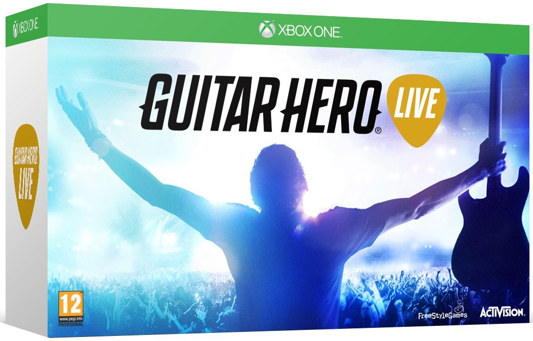 Guitar Hero Live - Guitar Bundle /Xbox One                                                                                                             By:ACTIVISION                                         Eur:32.5 Ден:4199