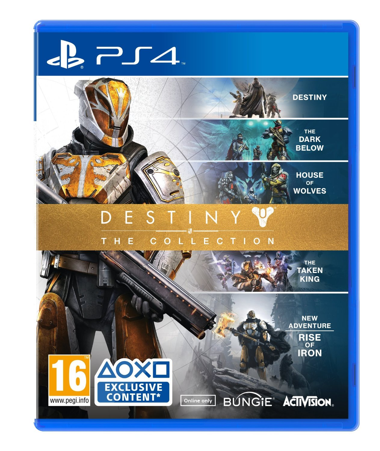 Destiny - The Collection-PlayStation 4                                                                                                                 By:Bungie                                             Eur:52.0 Ден:3999
