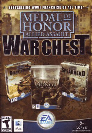 Medal Of Honor Allied Assault War Chest-PC By:Electronic Arts Eur:12,99 Ден1:699
