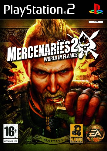 Mercenaries 2: World in Flames-PlayStation 2 By:Pandemic Studios Eur:12,99 Ден1:799