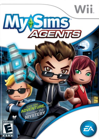 MySims Agents-Wii                                                                                                                                      By:EA Games                                           Eur:22.7 Ден:999