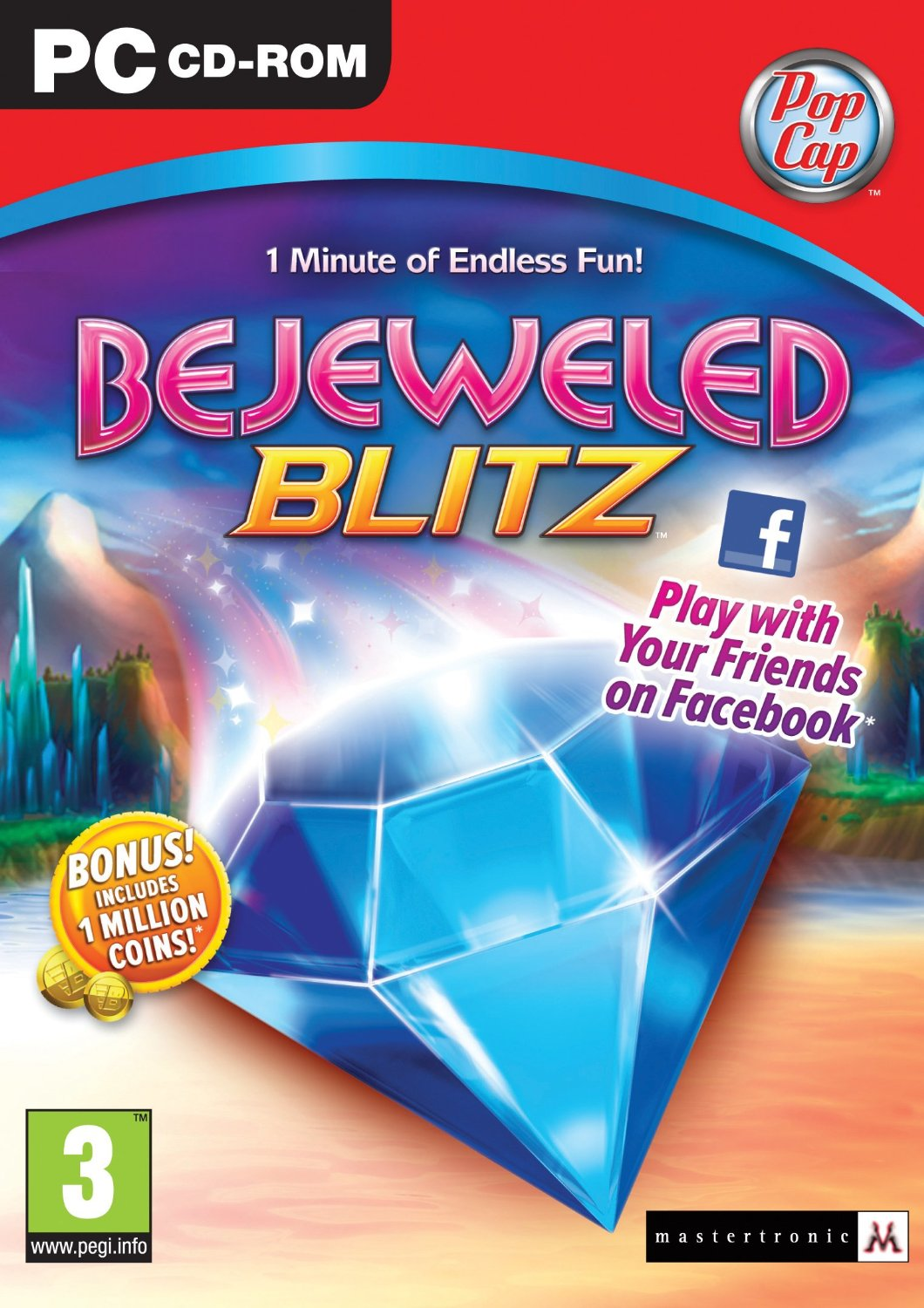 Bejeweled Blitz (PC CD) By:POPCAP Eur:12,99 Ден1:199