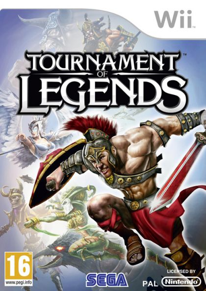 Tournament of Legends (WII)                                                                                                                            By:Sega of America                                    Eur:14.6 Ден:899