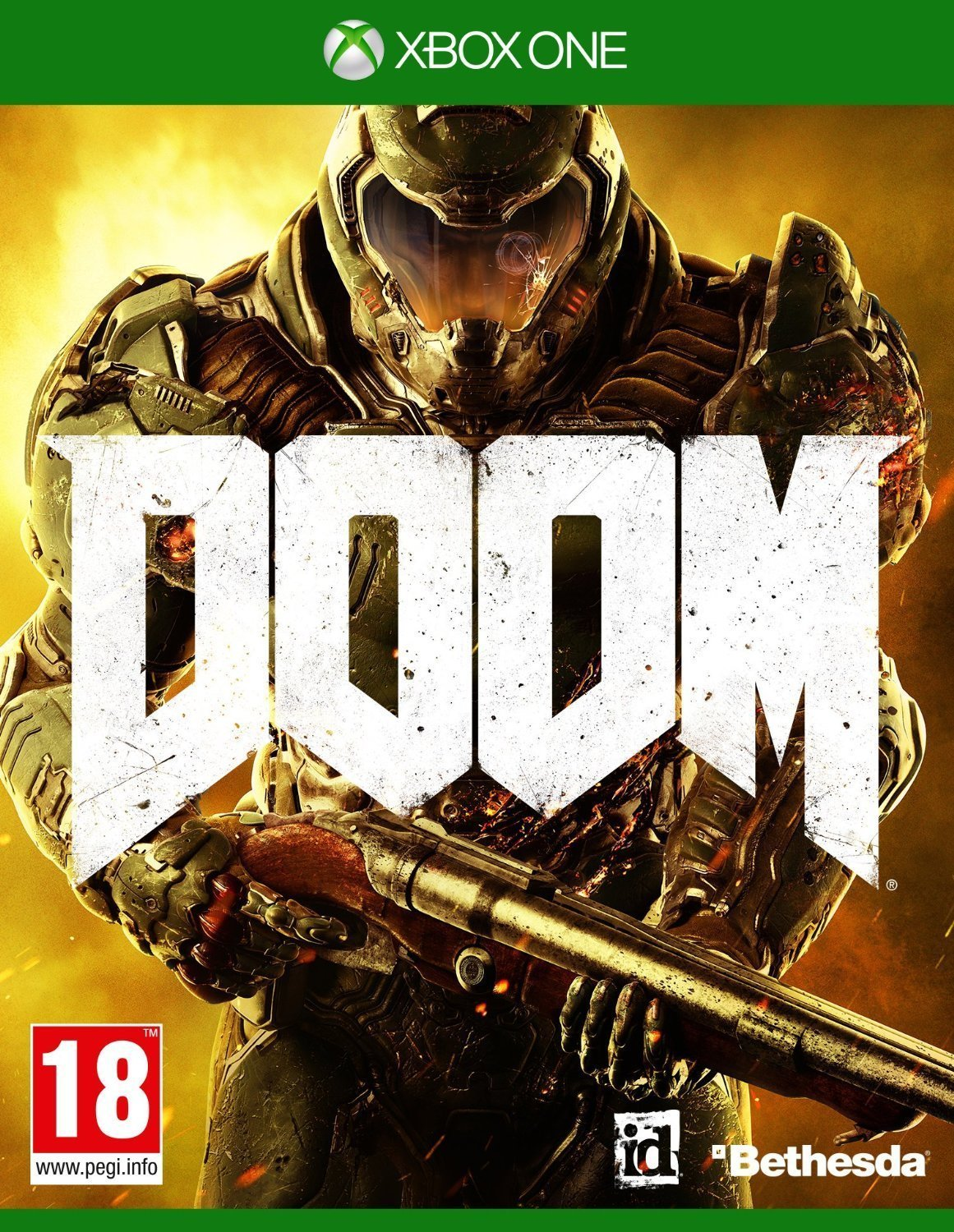 DOOM-Xbox One By:id Software Eur:37,38 Ден1:3499