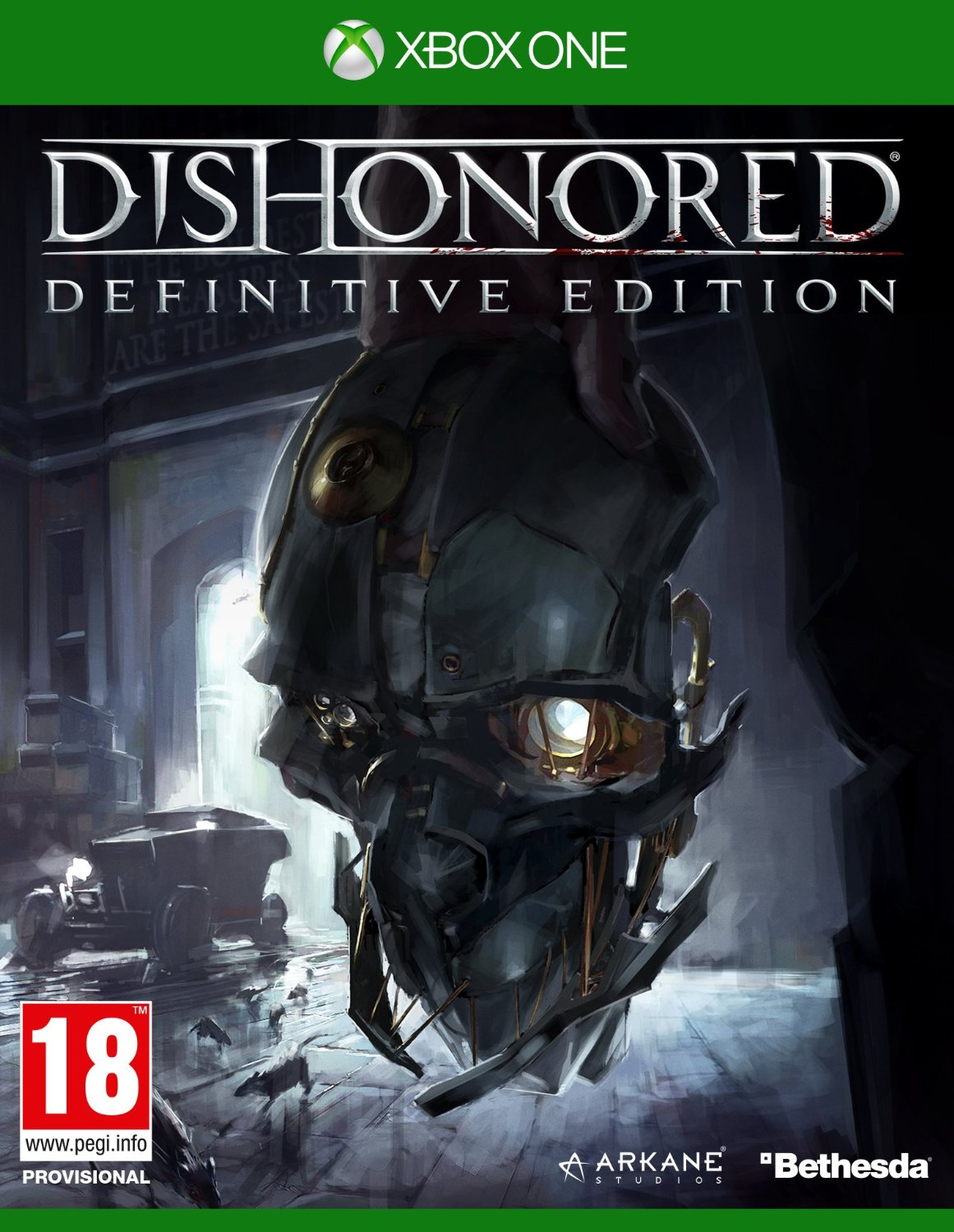 Dishonored: Definitive Edition-Xbox One                                                                                                                By:Arkane Studios                                     Eur:40.63 Ден:2199