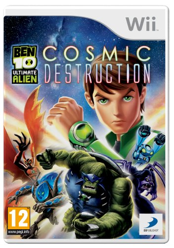 Ben 10: Ultimate Alien: Cosmic Destruction-Wii By:Papaya Studio Eur:12,99 Ден2:799