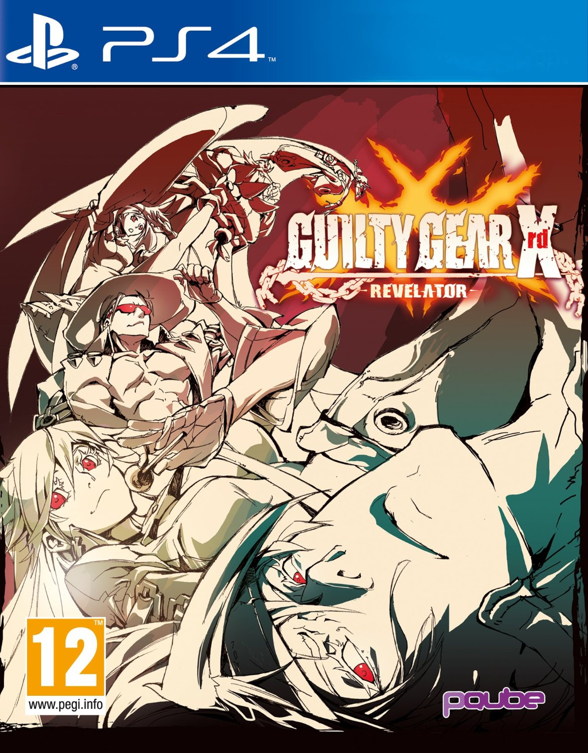 Guilty Gear Xrd -REVELATOR--PlayStation 4                                                                                                              By:Arc Systems Work                                   Eur:65.02 Ден:3699