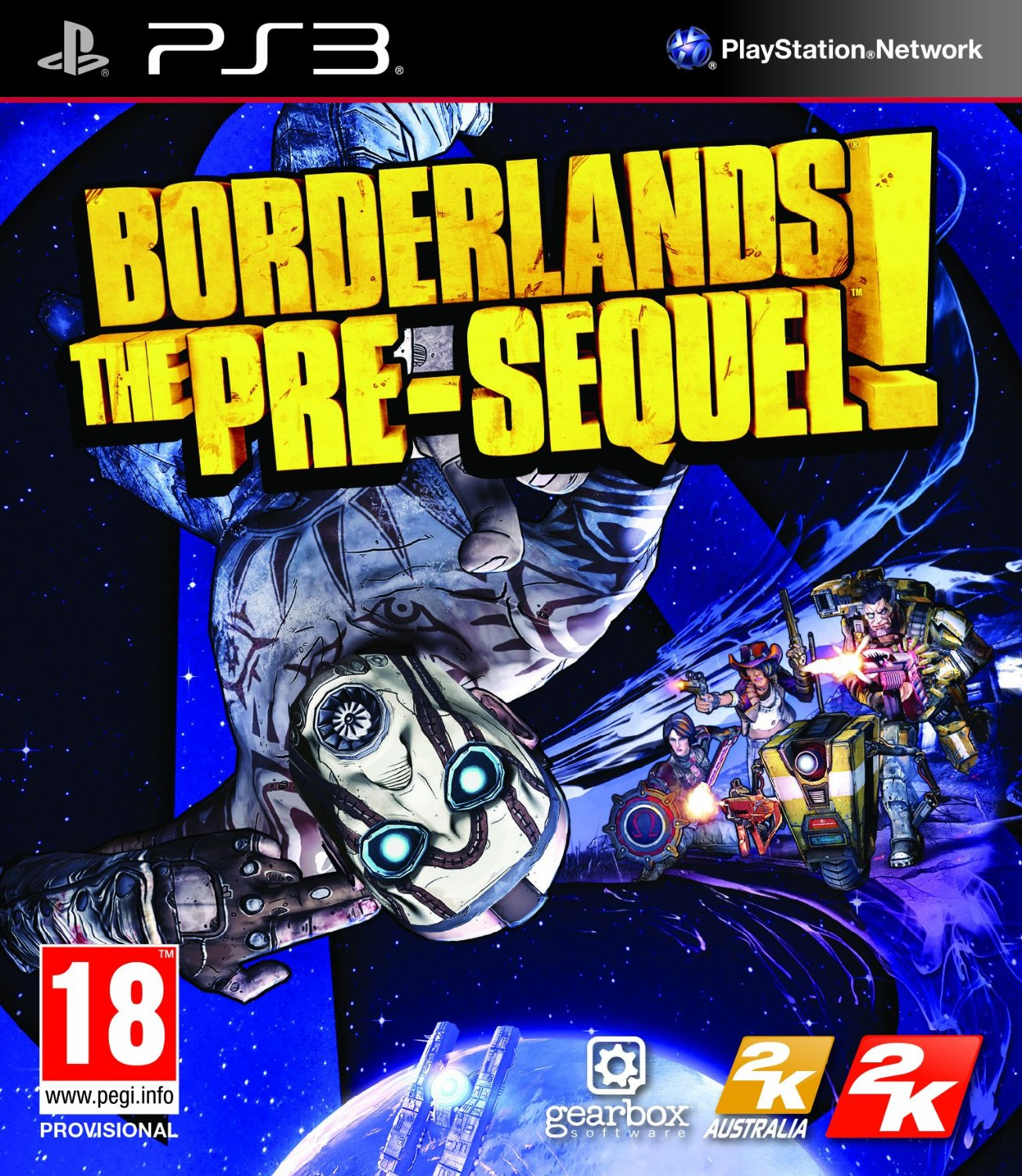 Borderlands: The Pre-Sequel-PlayStation 3                                                                                                              By:Gearbox Software                                   Eur:22.7 Ден:1599