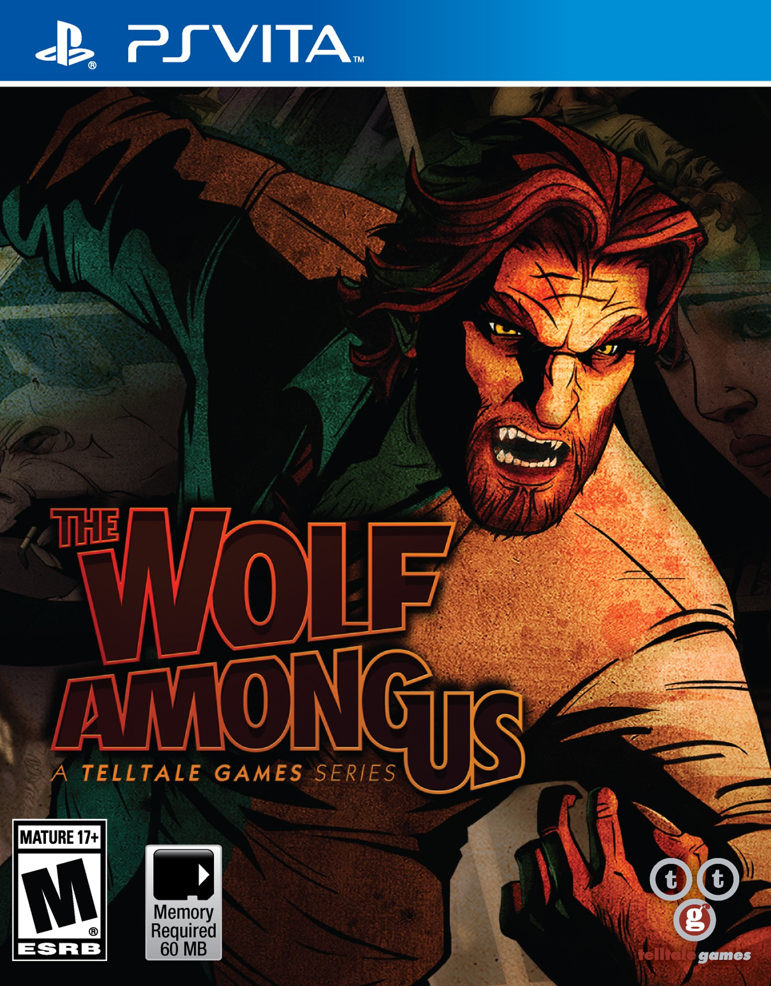 The Wolf Among Us-PlayStation Vita                                                                                                                     By:Telltale Games                                     Eur:37.4 Ден:1899