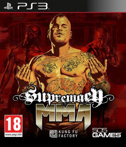 Supremacy MMA-PlayStation 3                                                                                                                            By:Kung Fu Factory                                    Eur:47.14 Ден:1299