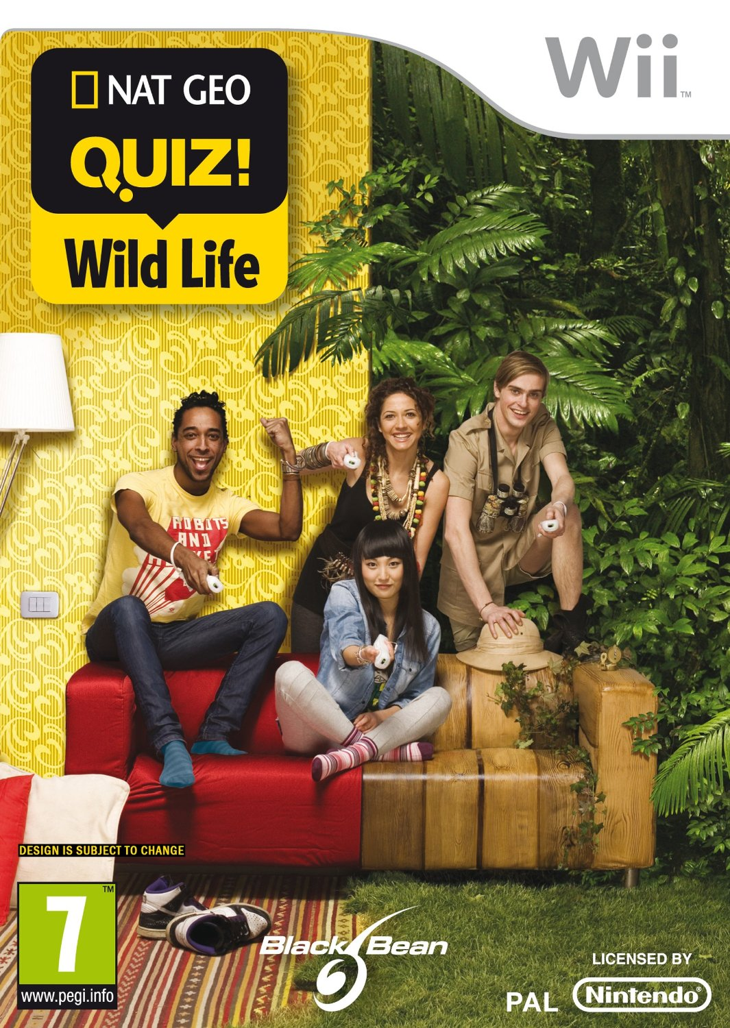NatGeo Quiz: Wild Life-Wii                                                                                                                             By:Gusto Games                                        Eur:14.6 Ден:999