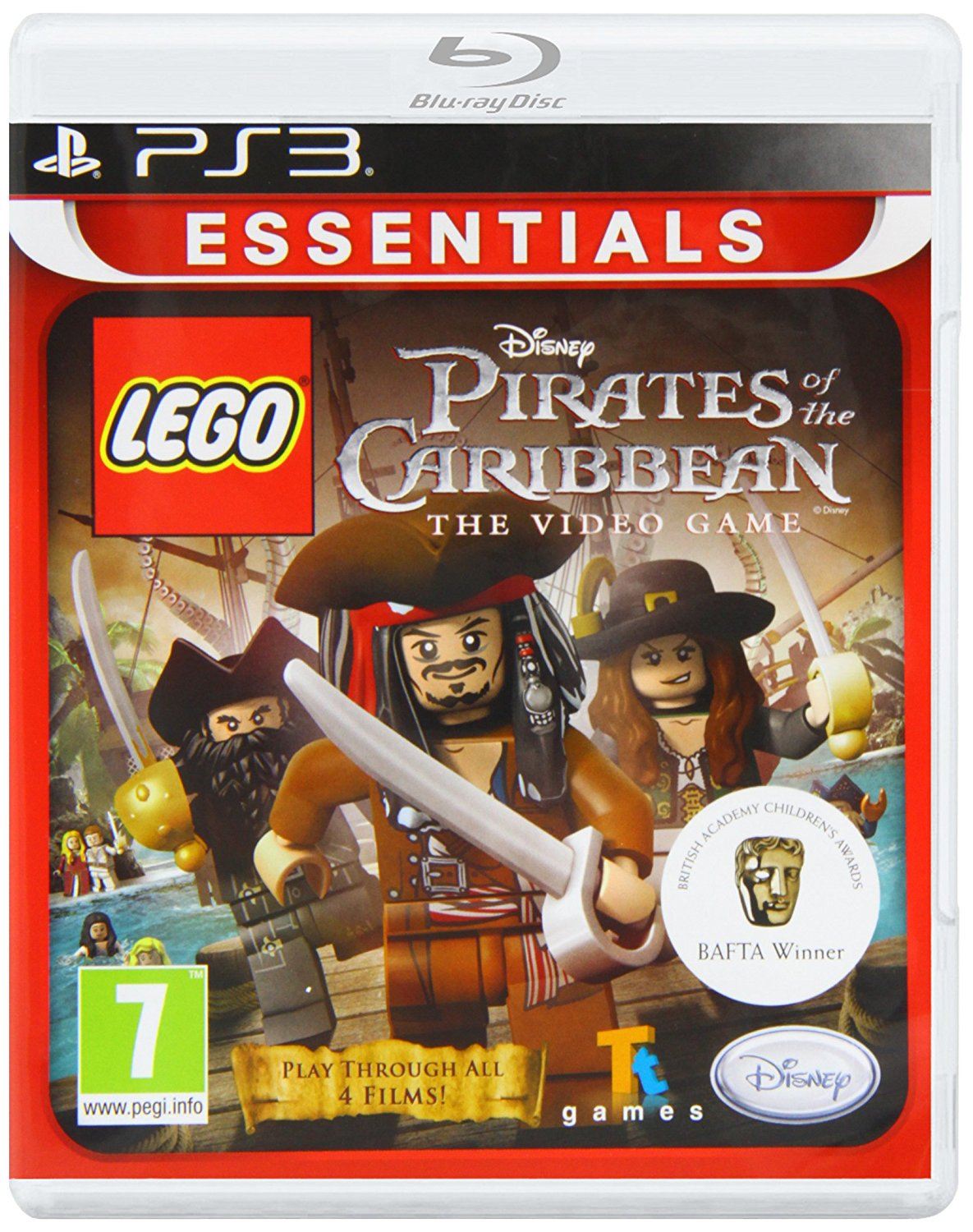 LEGO Pirates of the Caribbean: The Video Game-PlayStation 3                                                                                            By:Travellers Tales                                   Eur:26 Ден:1499