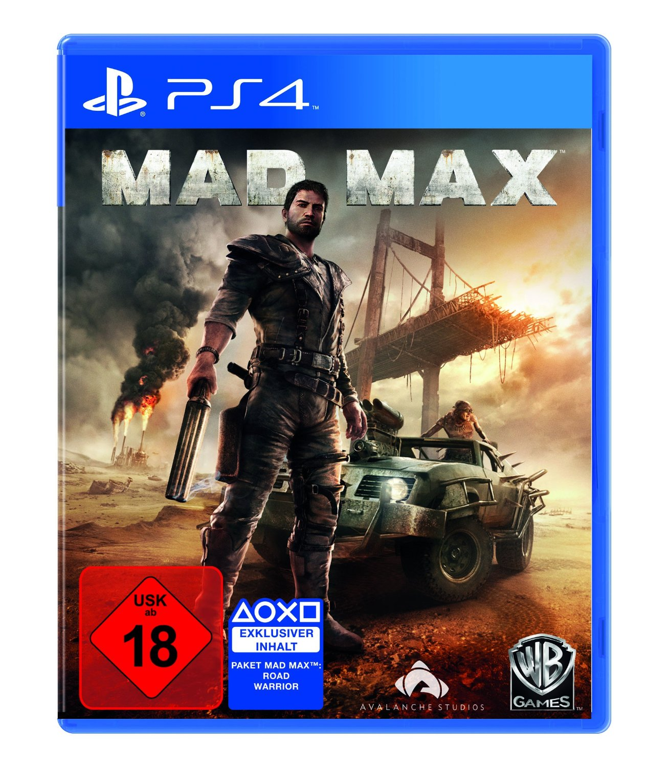 Mad Max-PlayStation 4                                                                                                                                  By:Avalanche Studios                                  Eur:52.0 Ден:2199
