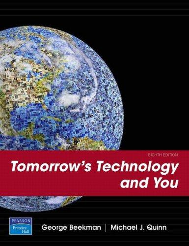 Tomorrow's Technology and You, Introductory                                                                                                            By:Beekman, George                                    Eur:24.37 Ден:1499