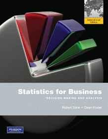 Statistics for Business: Decision Making and Analysis                                                                                                  By:Stine, Robert A.                                   Eur:39.0 Ден:11499