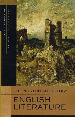 The Norton Anthology of English Literature : Volume D: The Romantic Period By:Abrams, M. H. Eur:16,24 Ден1:1299