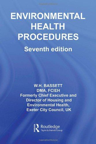 Environmental Health Procedures (Clay's Library of Health and the Environment)                                                                         By:Bassett, W.H.                                      Eur:123.6 Ден:9399
