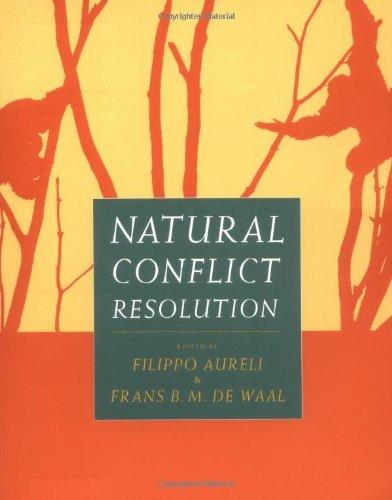 Natural Conflict Resolution                                                                                                                            By:Aureli, Filippo                                    Eur:3170.7 Ден:899