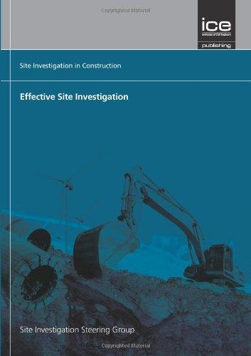 Effective Site Investigation (Site Investigation in Construction Series) (Site Investigation in Construction Series 2 Edition)                         By:Group, Site Investigation Steering                 Eur:61.77 Ден:3199