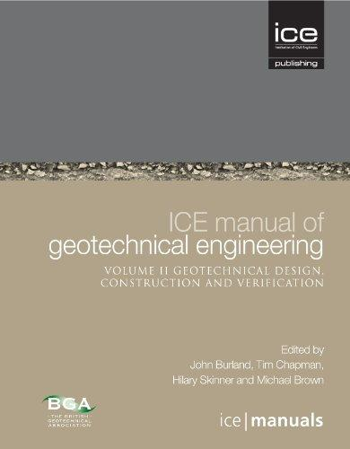 ICE Manual of Geotechnical Engineering Vol 2: Geotechnical Design, Construction and Verification                                                       By:Burland, John                                      Eur:27.6 Ден:8199