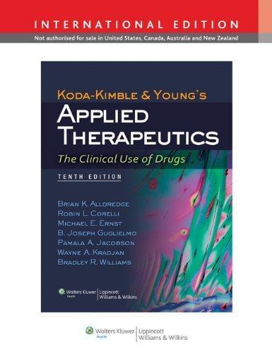 Kodakimble & Youngs Applied Therapeutics                                                                                                               By:Alldredge, Brian K.                                Eur:209.7 Ден:9699