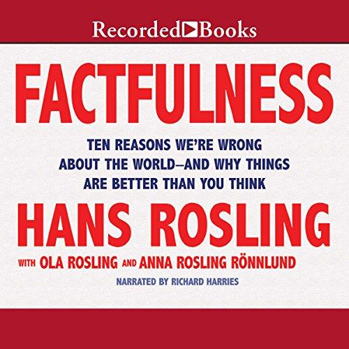 Factfulness: Ten Reasons We're Wrong About the World - and Why Things Are Better Than You Think                                                        By:Rosling, Hans                                      Eur:17.87 Ден:899