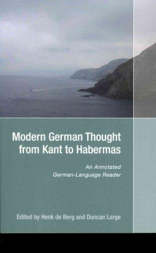 Modern German Thought from Kant to Habermas - An Annotated German-Language Reader By:Berg, Henk de Eur:12,99 Ден2:1299