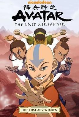 Avatar: The Last Airbender - The Lost Adventures                                                                                                       By:Ehasz, Aaron                                       Eur:45.5 Ден:839