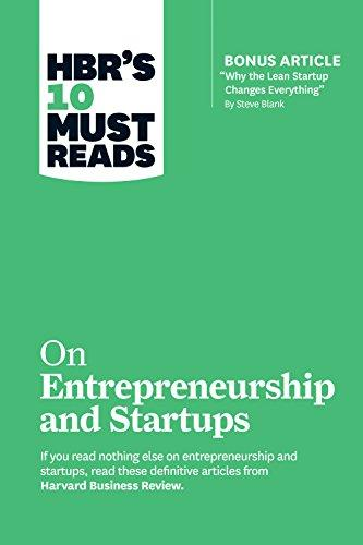 "HBR's 10 Must Reads on Entrepreneurship and Startups (featuring Bonus Article ""Why the Lean Startup Changes Everything"" by Steve Blank) By:Blank, Steve Eur:17,87 Ден1:1199"